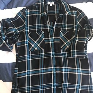 Express convertible sleeve Blouse size Large